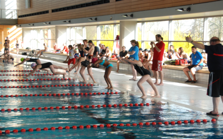 Nationale Schwimmmeisterschaft 2018 in Petingen